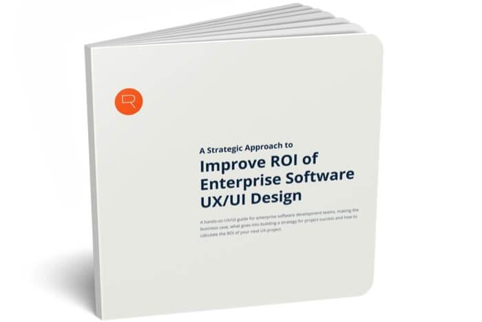 ROI of Enterprise Software UX/UI Design