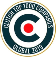 Clutch Top 1000 Companies Global 2019