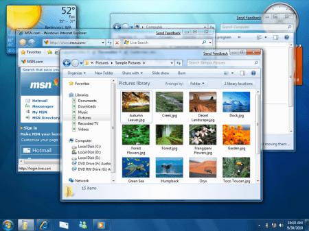 Windows 7 Desktop Screenshot