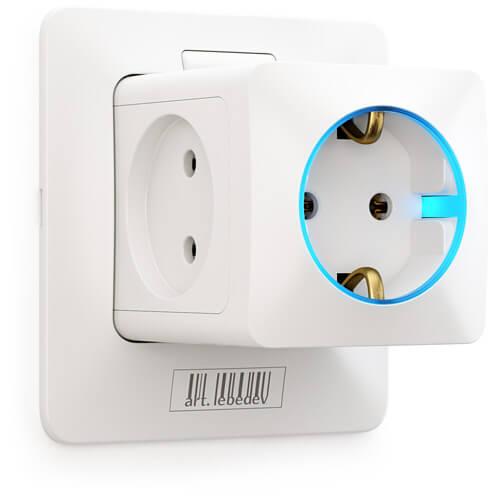 Art Lebedev's Rozetkus 3D socket concept