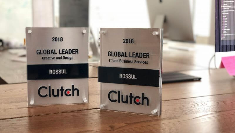 Clutch 2018 Global Leader - ROSSUL DESIGN INC.