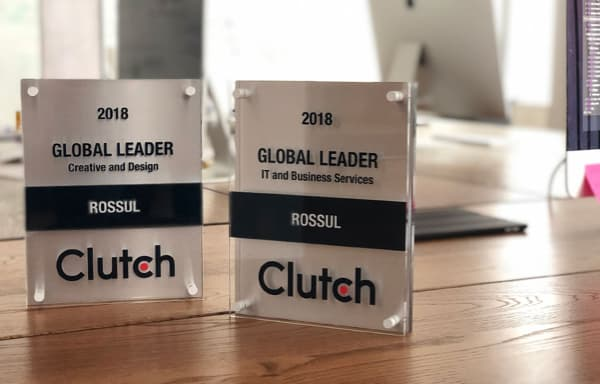 ROSSUL is Named Clutch 2018 Global Leader!