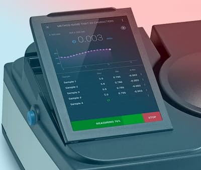 Project Spectrophotometer APP UI & UX